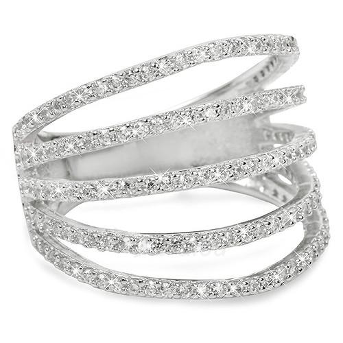 Brilio Silver sidabrinis ring su cirkoniu 31G3098 (Dydis: 56 mm) Paveikslėlis 1 iš 3 310820025714
