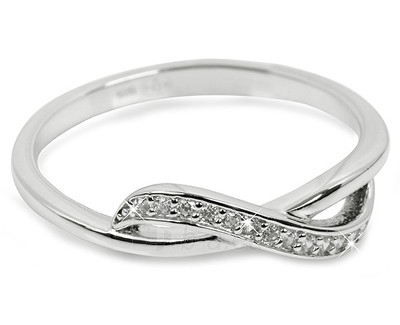 Brilio Silver sidabrinis žiedas su cirkoniu 31G3100 (Dydis: 56 mm) Paveikslėlis 1 iš 1 310820025695