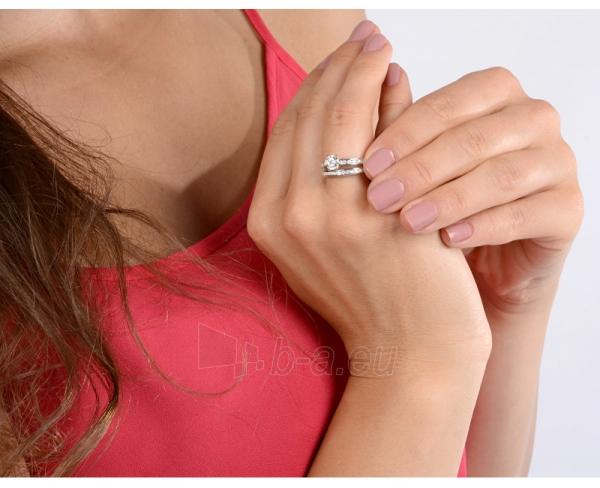 Brilio Silver sidabrinių žiedų komplektas 31G3038 (Dydis: 54 mm) Paveikslėlis 3 iš 4 310820023453
