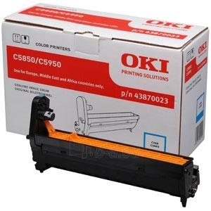 Būgnas OKI cyan | C5850/5950/MC560 Paveikslėlis 1 iš 1 2502560202162
