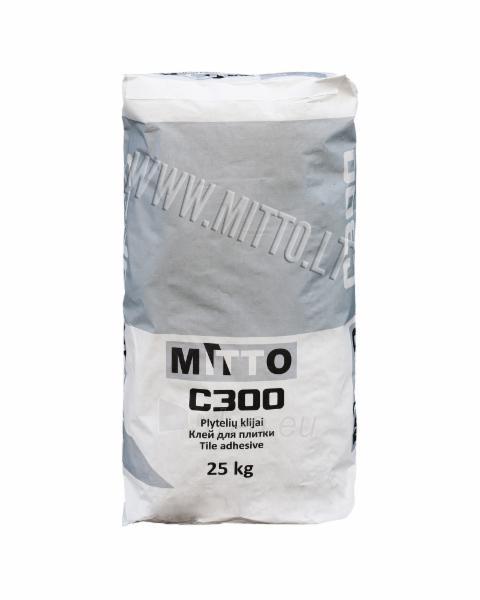 MITTO C300 Klijai plytelių 25 kg Paveikslėlis 1 iš 1 236780600105