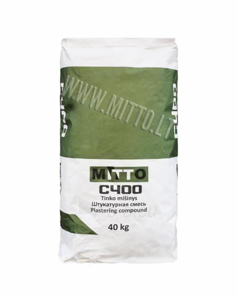 Tinko mišinys MITTO C400 (40 kg) Paveikslėlis 1 iš 1 236760200039