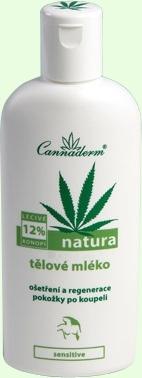 Cannaderm Natura Body Lotion Cosmetic 200ml Paveikslėlis 1 iš 1 250850200007