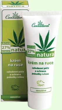 Cannaderm Natura Hand Cream Cosmetic 75g Paveikslėlis 1 iš 1 250850400001