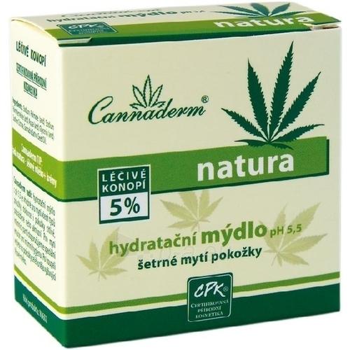 Cannaderm Natura Moisturizing Soap Cosmetic 100g Paveikslėlis 1 iš 1 250896000018