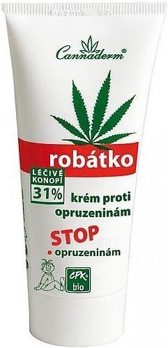 Cannaderm Robátko Anti-sores Cream for baby Cosmetic 75g Paveikslėlis 1 iš 1 30024900096