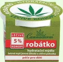 Cannaderm Robatko Moisturizing Soap Cosmetic 100g Paveikslėlis 1 iš 1 250896000019