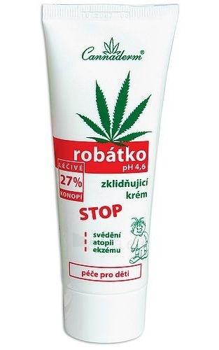Cannaderm Robátko Nursing Cream for baby Cosmetic 75g Paveikslėlis 1 iš 1 30024900094
