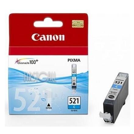 CANON INK CARTRIDGE CLI-521 C Paveikslėlis 1 iš 1 250256000339