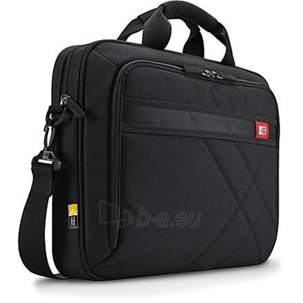 Case Logic DLC115 Laptop Case for 15.6''/ Polyester/ Black/ (38.5 x 4.4 x 26.7 cm) Paveikslėlis 1 iš 4 250256200491