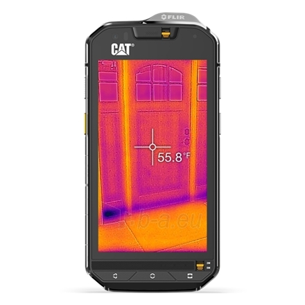 "Išmanusis telefonas Caterpillar CAT S60 Outdoor Smartphone (Black) Dual SIM 4.7"" a-Si AHVA 720x1280/ Quad-core 1.2GHz & Quad-core 1.5GHz/ 32GB/ 3GB RAM/ Android 6.0/ Paveikslėlis 4 iš 4 310820005000"
