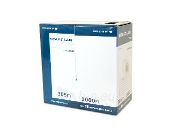 CCA kabelis Digitalbox START.LAN UTP cat. 5e 305m Paveikslėlis 2 iš 2 250257440075