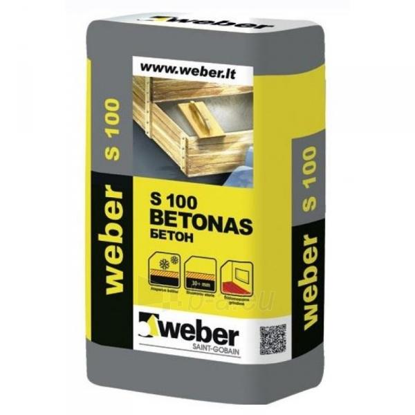 Cementinis mišinys S 100 (nuo 30 mm) 25 kg Paveikslėlis 1 iš 1 236750000104