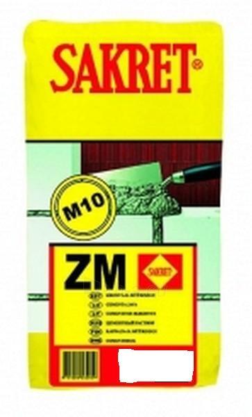 Cementinis mišinys ZM 40 kg Paveikslėlis 1 iš 1 236750000100