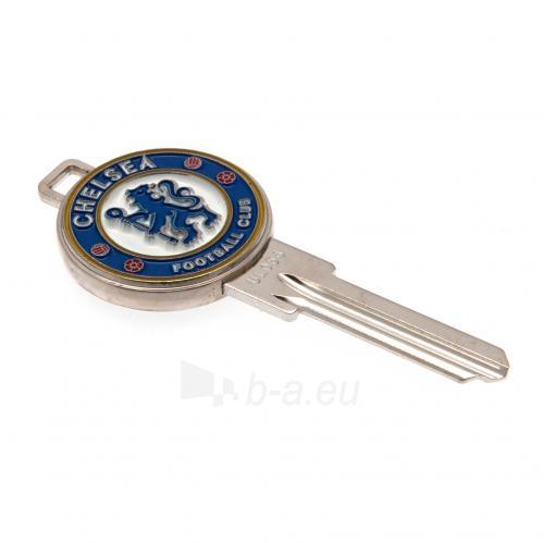 Chelsea F.C. durų rakto ruošinys 3D Paveikslėlis 1 iš 4 251009000319