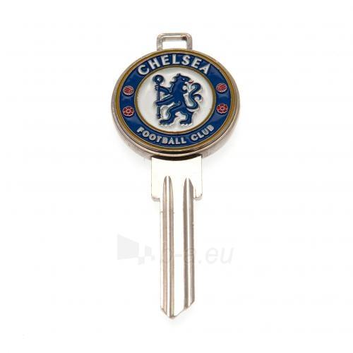 Chelsea F.C. durų rakto ruošinys 3D Paveikslėlis 2 iš 4 251009000319