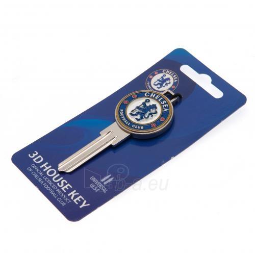 Chelsea F.C. durų rakto ruošinys 3D Paveikslėlis 4 iš 4 251009000319