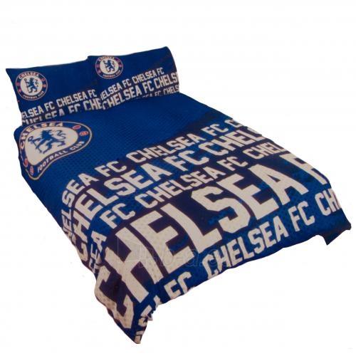 Chelsea F.C. dvigulės, dvipusės patalynės komplektas (su pavadimu) Paveikslėlis 1 iš 4 251009001051