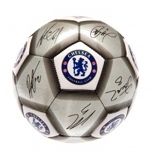 Chelsea F.C. futbolo kamuolys (Autografai. Pilkas) Paveikslėlis 2 iš 4 310820042378