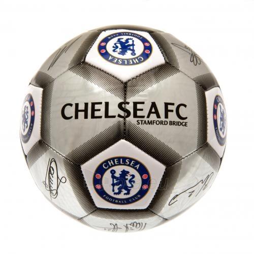 Chelsea F.C. futbolo kamuolys (Autografai. Pilkas) Paveikslėlis 3 iš 4 310820042378