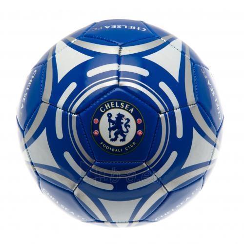 Chelsea F.C. futbolo kamuolys (Mėlynas su sidabriniais lankais) Paveikslėlis 1 iš 3 251009001407