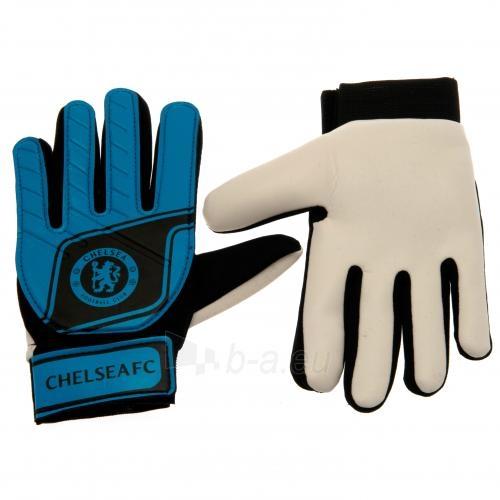 Chelsea F.C. jaunio vartininko pirštinės (Mėlynos) Paveikslėlis 1 iš 4 251009001053