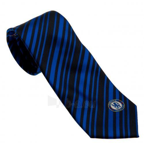 Chelsea F.C. kaklaraištis (Juoda-mėlyna) Paveikslėlis 1 iš 4 251009001054