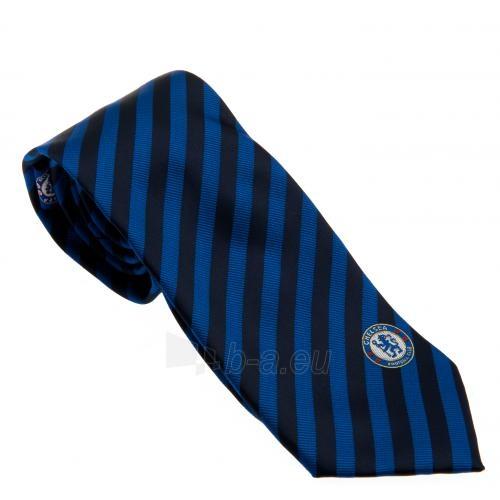Chelsea F.C. kaklaraištis (Mėlyna-juoda) Paveikslėlis 1 iš 4 251009001055