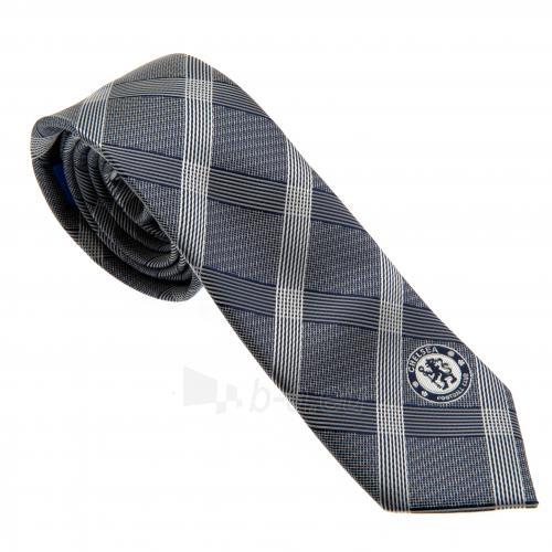 Chelsea F.C. kaklaraištis (Pilkas, dryžuotas) Paveikslėlis 1 iš 5 310820026065