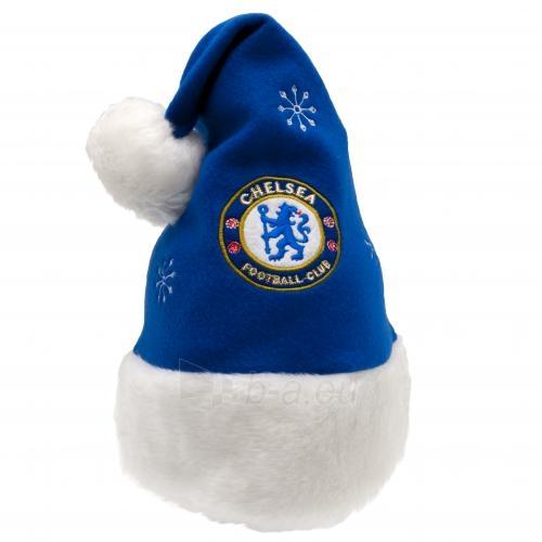 Chelsea F.C. Kalėdų senelio kepurė su bumbulu Paveikslėlis 1 iš 2 251009001416