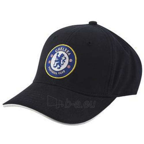 Chelsea F.C. kepurėlė su snapeliu (Juoda) Paveikslėlis 2 iš 2 251009001420