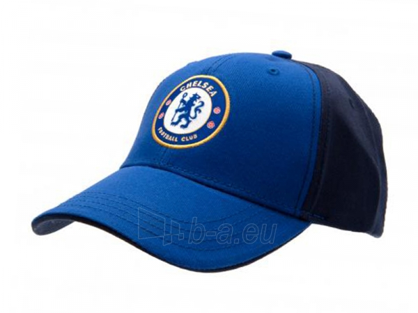 Chelsea F.C. kepurėlė su snapeliu (Mėlyna su juoda) Paveikslėlis 1 iš 3 251009000339