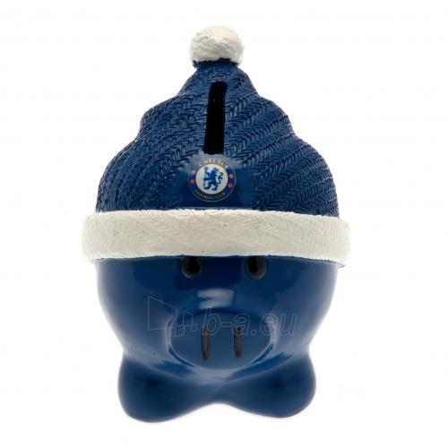 Chelsea F.C. kiaulė taupyklė (su kepure) Paveikslėlis 3 iš 4 251009000342