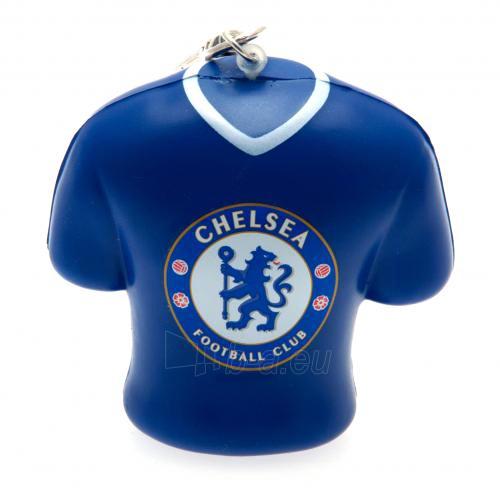 Chelsea F.C. minkštas marškinėlių formos raktų pakabukas Paveikslėlis 1 iš 4 251009000155