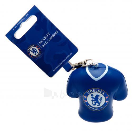 Chelsea F.C. minkštas marškinėlių formos raktų pakabukas Paveikslėlis 3 iš 4 251009000155