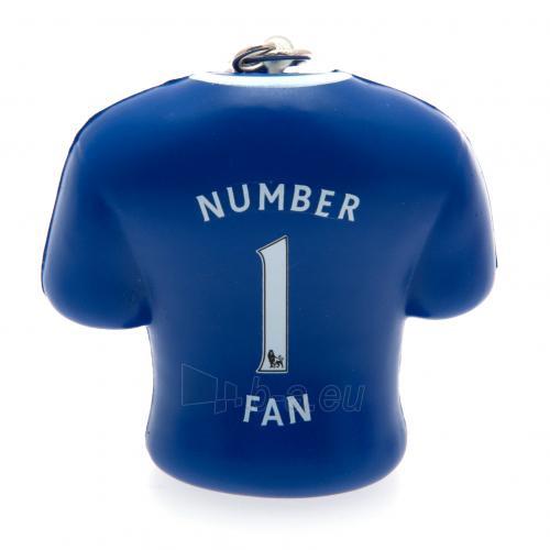 Chelsea F.C. minkštas marškinėlių formos raktų pakabukas Paveikslėlis 4 iš 4 251009000155