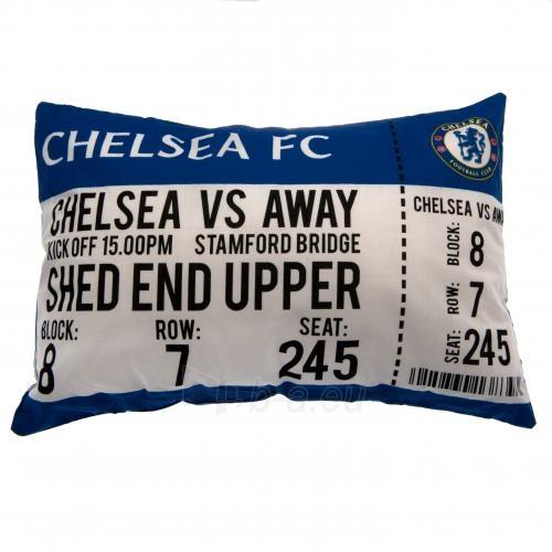 Chelsea F.C. pagalvė ,,Mačo diena Paveikslėlis 1 iš 4 251009001108