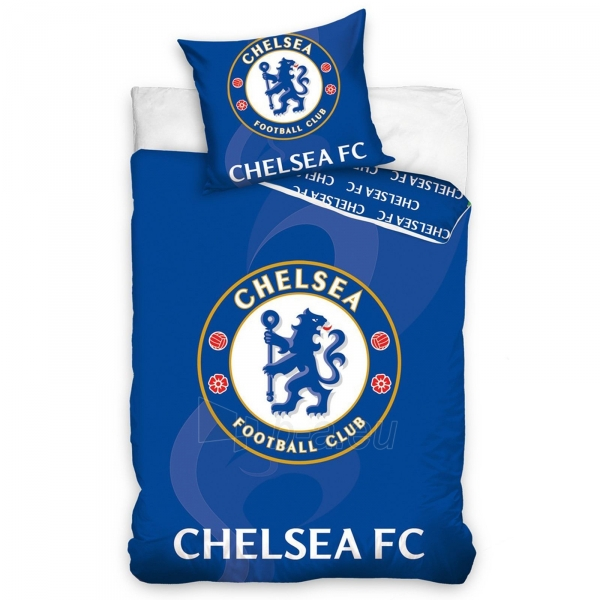 Chelsea F.C. patalynės komplektas (Mėlynas) Paveikslėlis 1 iš 2 251009000166
