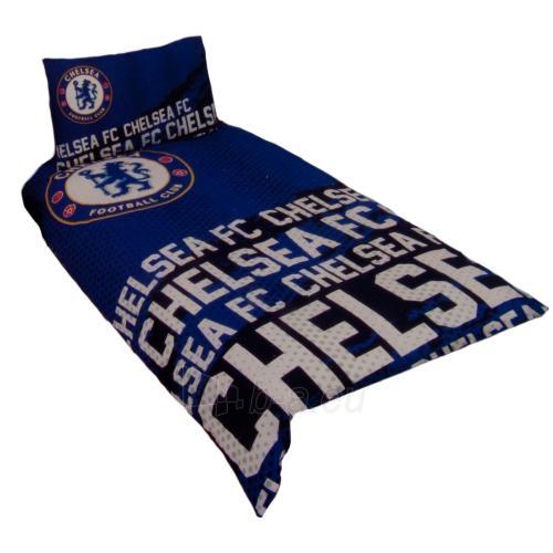 Chelsea F.C. patalynės komplektas (Mėlynas-logotipai) Paveikslėlis 1 iš 4 251009001064