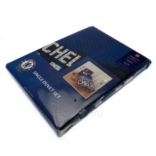 Chelsea F.C. patalynės komplektas (Mėlynas-logotipai) Paveikslėlis 4 iš 4 251009001064
