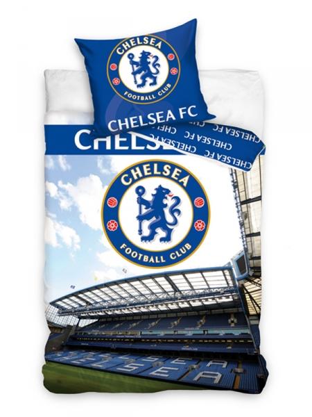 Chelsea F.C. patalynės komplektas (Stadionas) Paveikslėlis 2 iš 2 251009001434