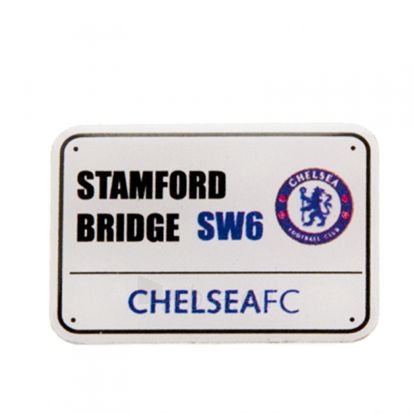 Chelsea F.C. prisegamas stadiono adreso ženklelis Paveikslėlis 1 iš 3 251009000173