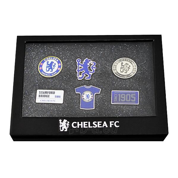 Chelsea F.C. prisegamų ženklelių rinkinys Paveikslėlis 1 iš 2 251009001440