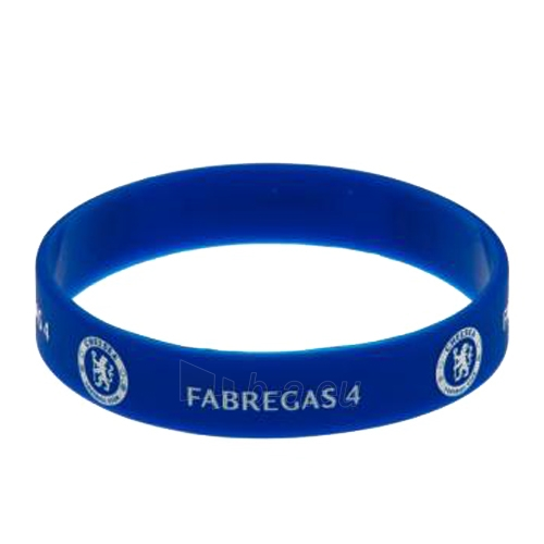Chelsea F.C. silikoninė apyrankė (Fabregas) Paveikslėlis 2 iš 4 251009000197