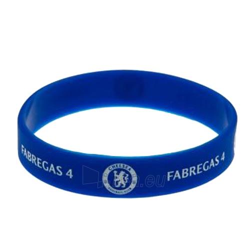 Chelsea F.C. silikoninė apyrankė (Fabregas) Paveikslėlis 3 iš 4 251009000197