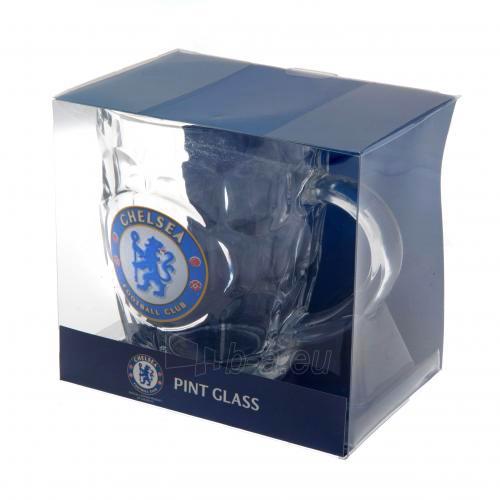 Chelsea F.C. stiklinis alaus bokalas Paveikslėlis 3 iš 3 251009000206