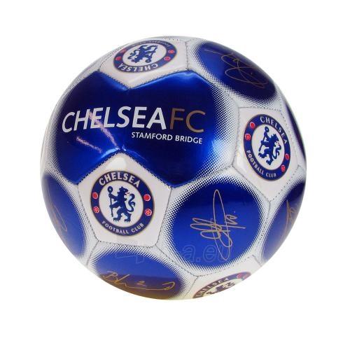 Chelsea F.C. treniruočių mini kamuolys (Autografai) Paveikslėlis 1 iš 2 251009000207