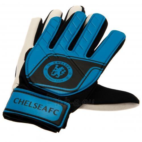 Chelsea F.C. vaikiškos vartininko pirštinės (Mėlynos) Paveikslėlis 3 iš 4 251009001067