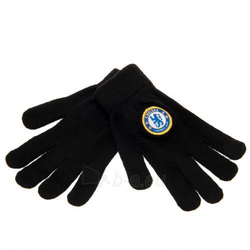 Chelsea F.C. vaikiškos žieminės pirštinės Paveikslėlis 1 iš 3 251009000211