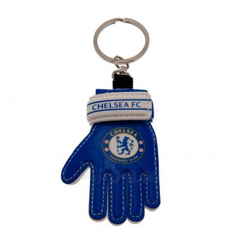 Chelsea F.C. vartininko pirštinės formos raktų pakabukas Paveikslėlis 1 iš 4 251009001244